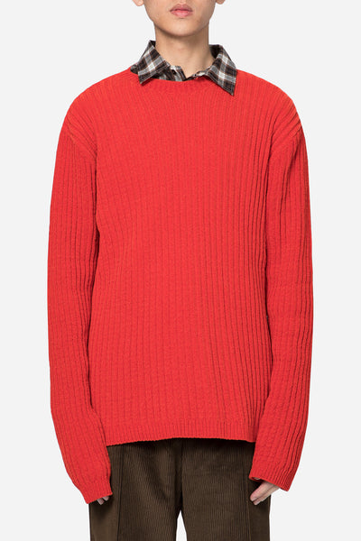 Our Legacy - Popover Roundneck Red Chenille