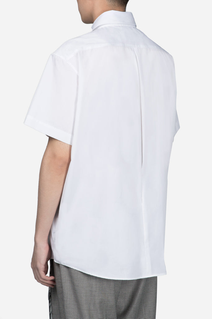 Deconstructed S/S Shirt White
