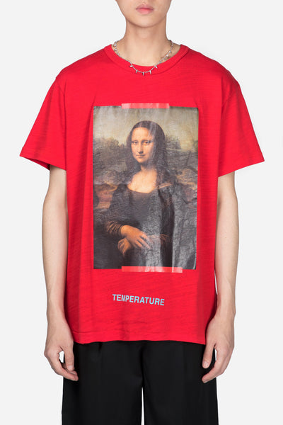 Off-White - Monalisa S/S Tee Red