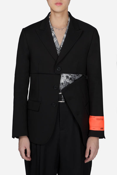 Off-White - Zip Off Classic Jacket Black