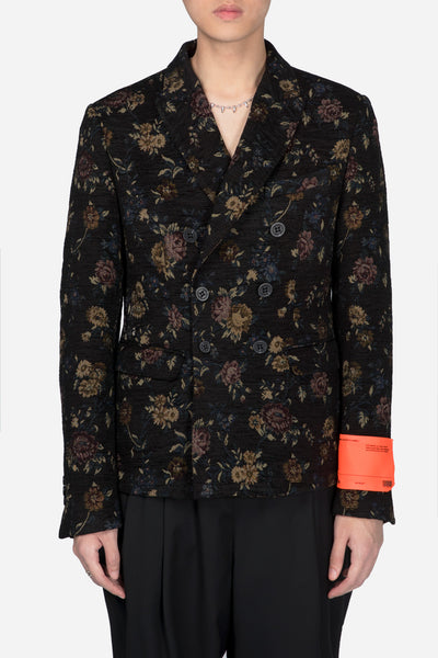 Off-White - Tapestry Detach Collar Jacket Floral