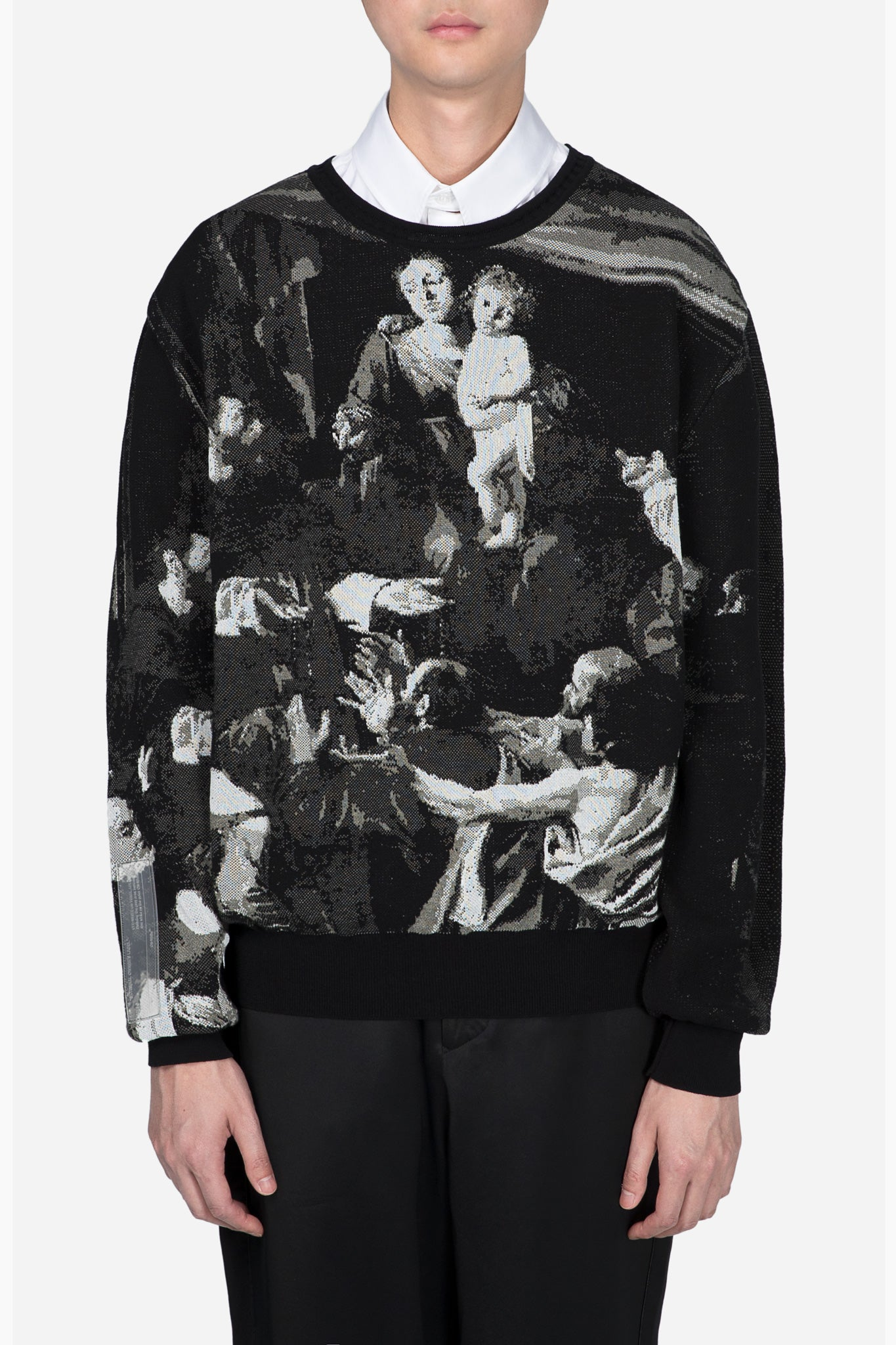 Caravaggio Knitted Pull Black