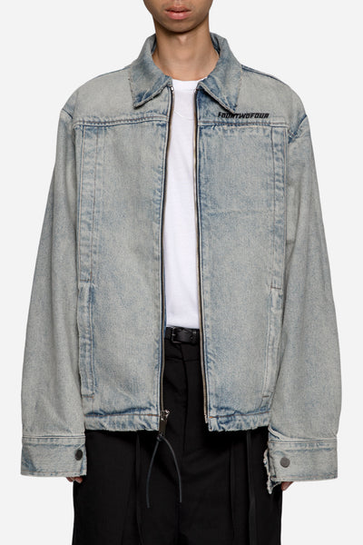 424 - Denim Jail Jacket Light Indigo