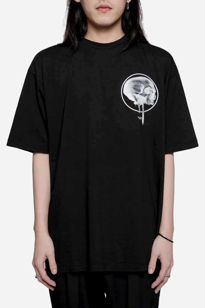 Loose Fit Jersey Tee Black