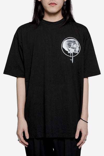 Komakino - Loose Fit Jersey Tee Black