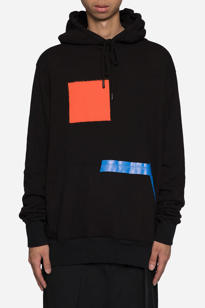 424 - Painter Hooded Sweatshirt Black