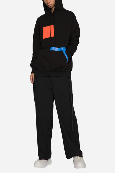 Painter Hooded Sweatshirt Black