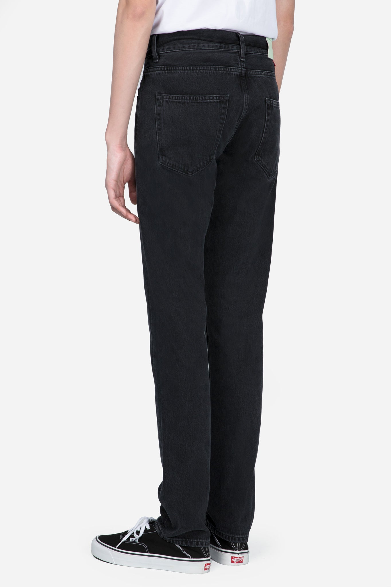 Slim 5P Denim Black
