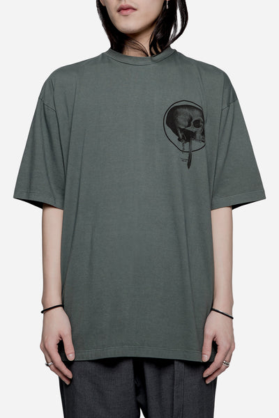 Komakino - Loose Fit Jersey Tee Green