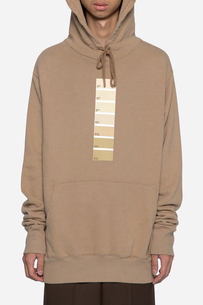 424 - Pantone Hooded Sweatshirt Camel