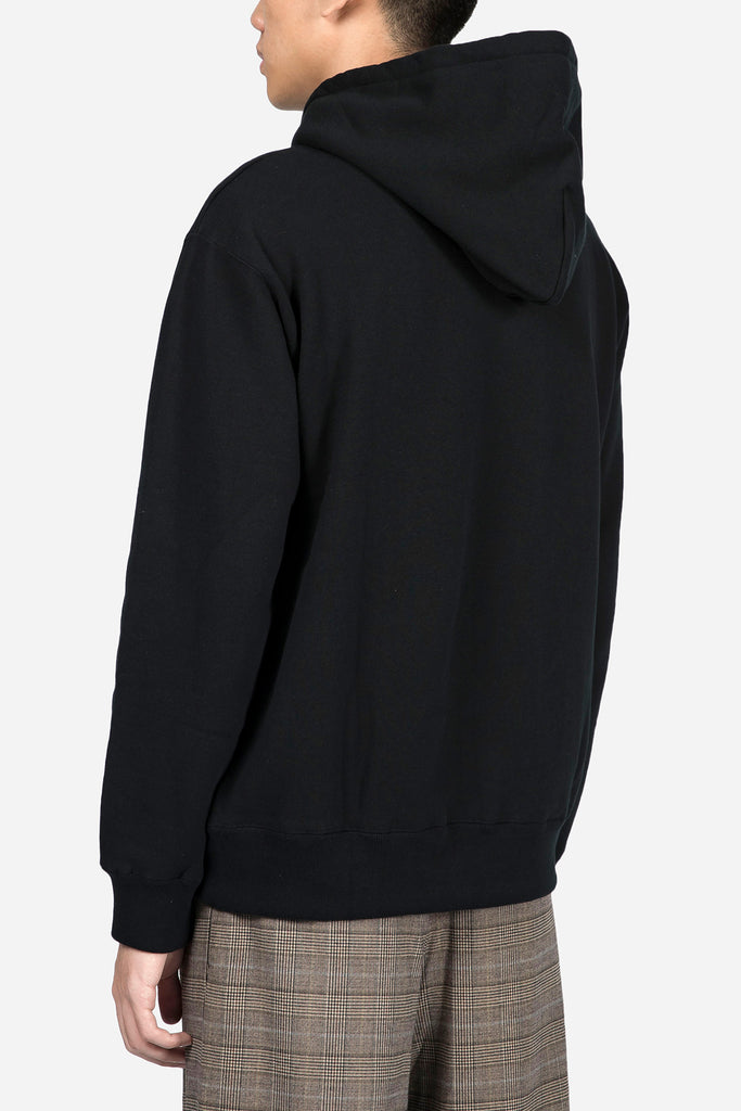 424 x Doublet Embroidered Hoodie Black