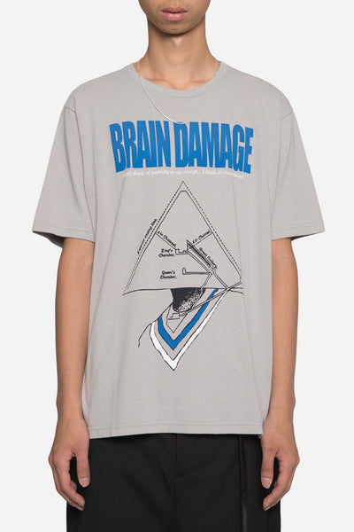 Undercover - Brain Damage Tee Grey