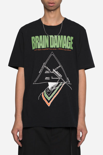 Undercover - Brain Damage Tee Black