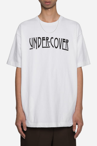 Undercover - Undercover Logo Print Big Tee White