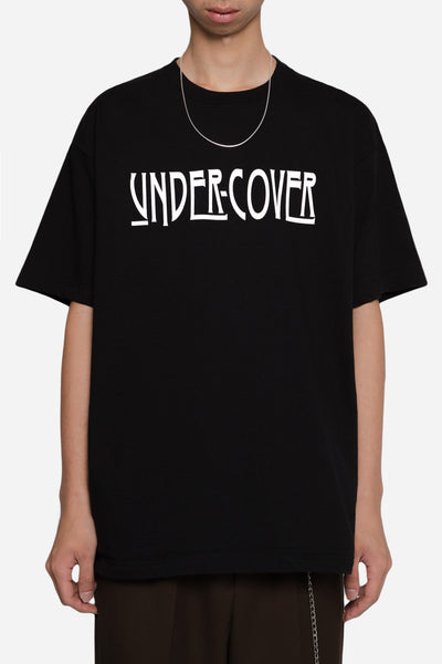 Undercover - Undercover Logo Print Big Tee Black