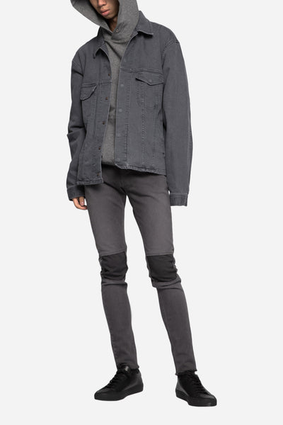 John Undercover Cropped Jeans Charcoal