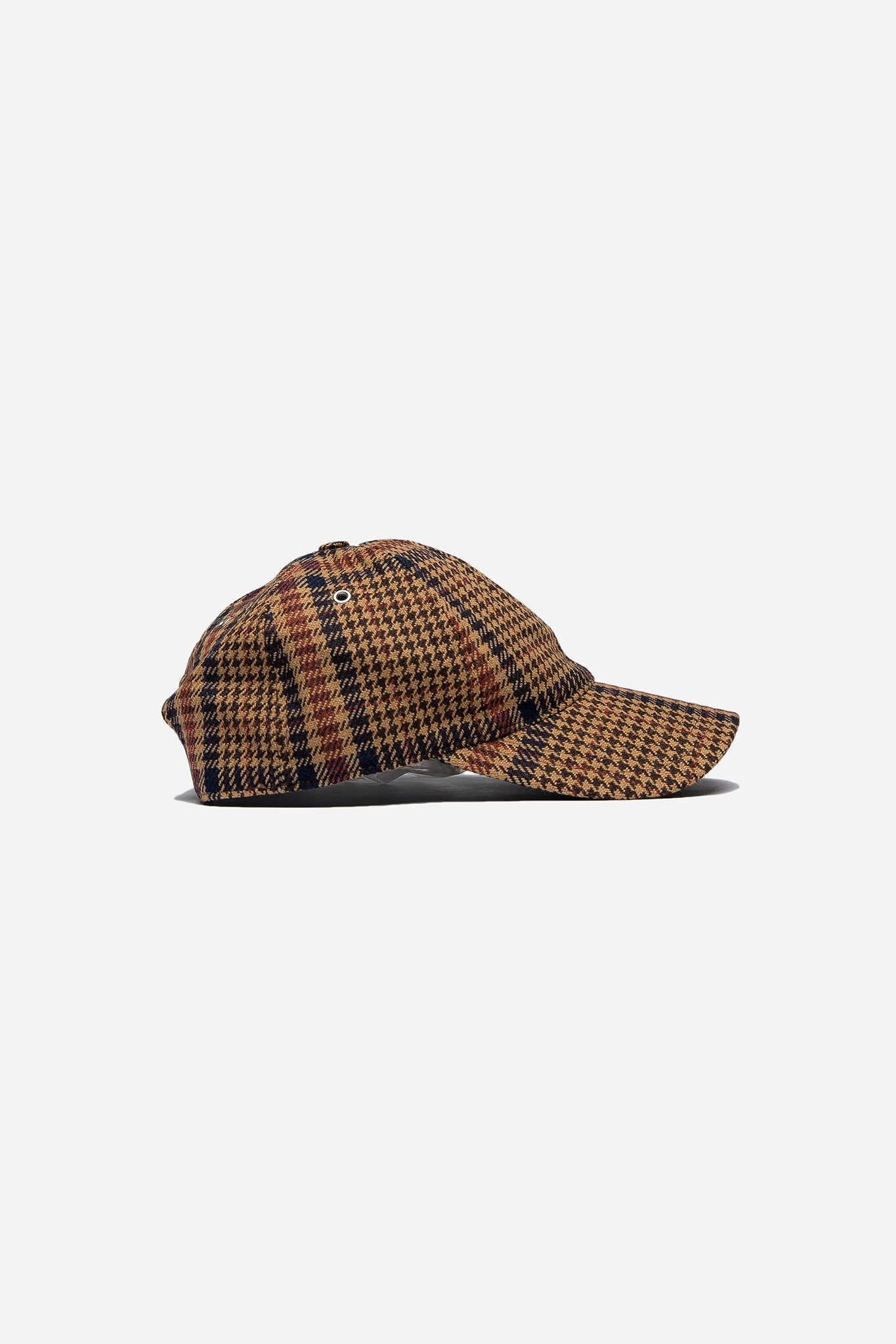 Men Cap Marron Noir