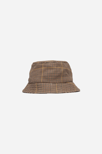 CMMN SWDN - Bucket Hat Prince Of Wales Check