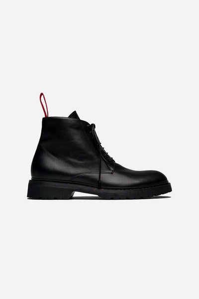 424 - High Top Boot Black