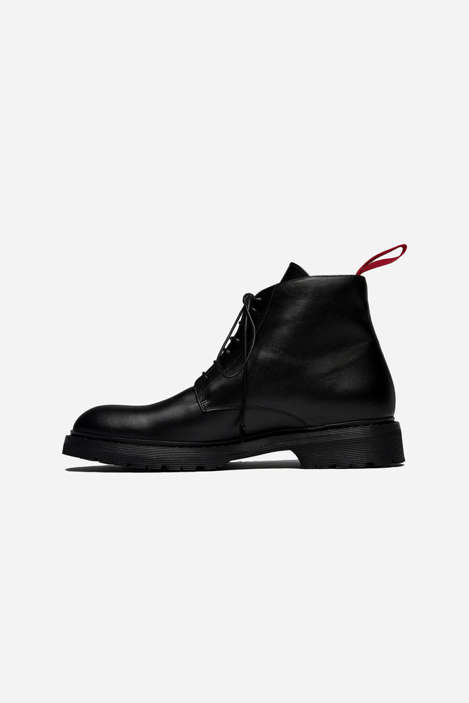 High Top Boot Black