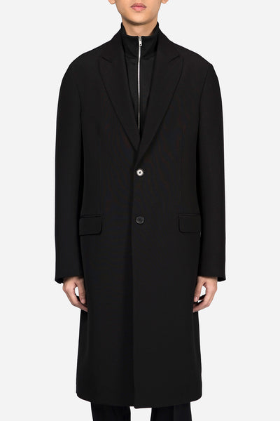 Maison Margiela - Classic Single Breast Coat Black