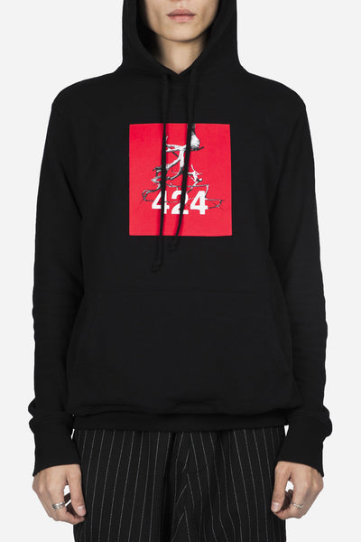 424 - Anniversary Collaboration Hoodie Black