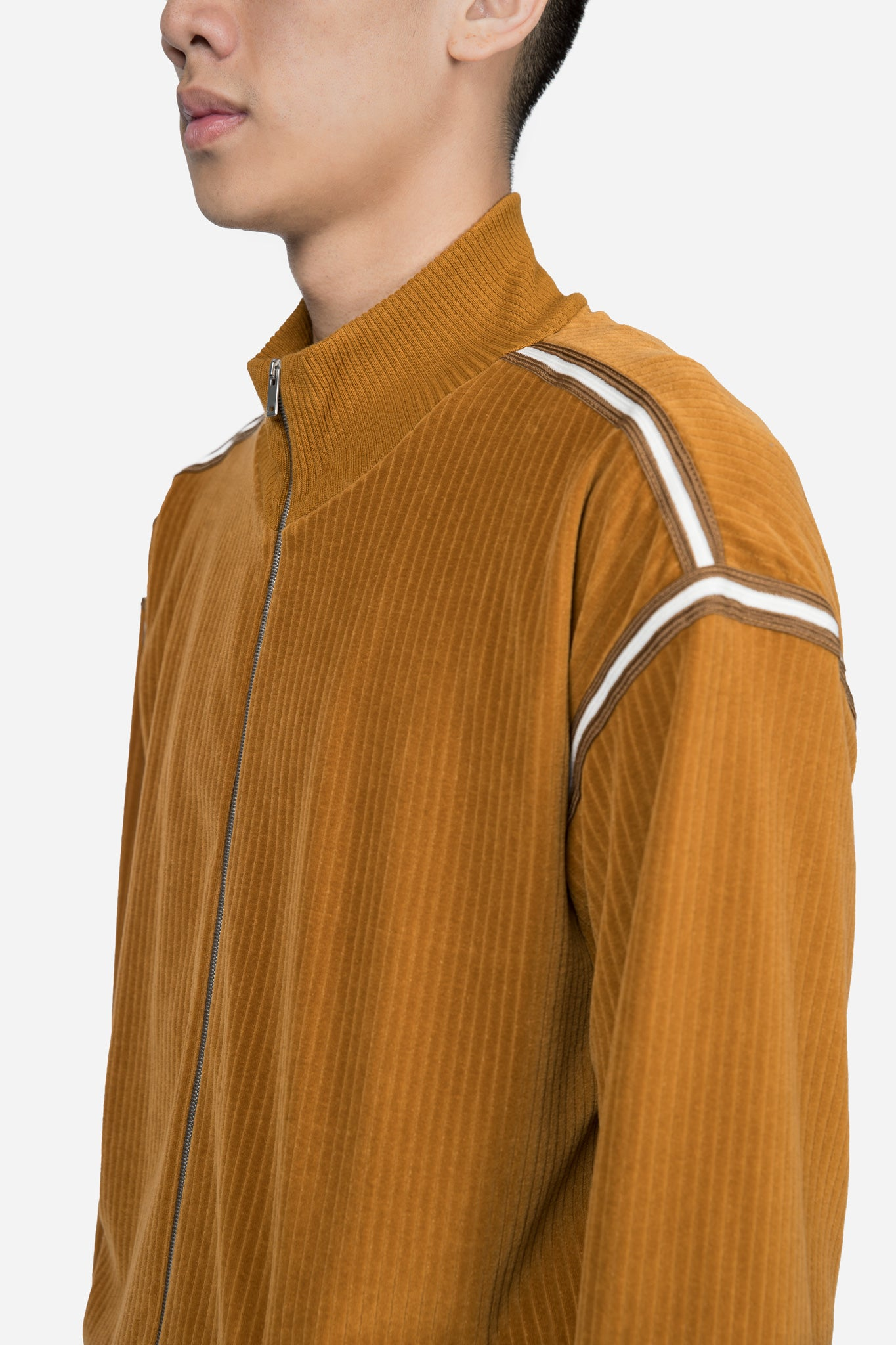 Short Track Jacket Mustard Gold