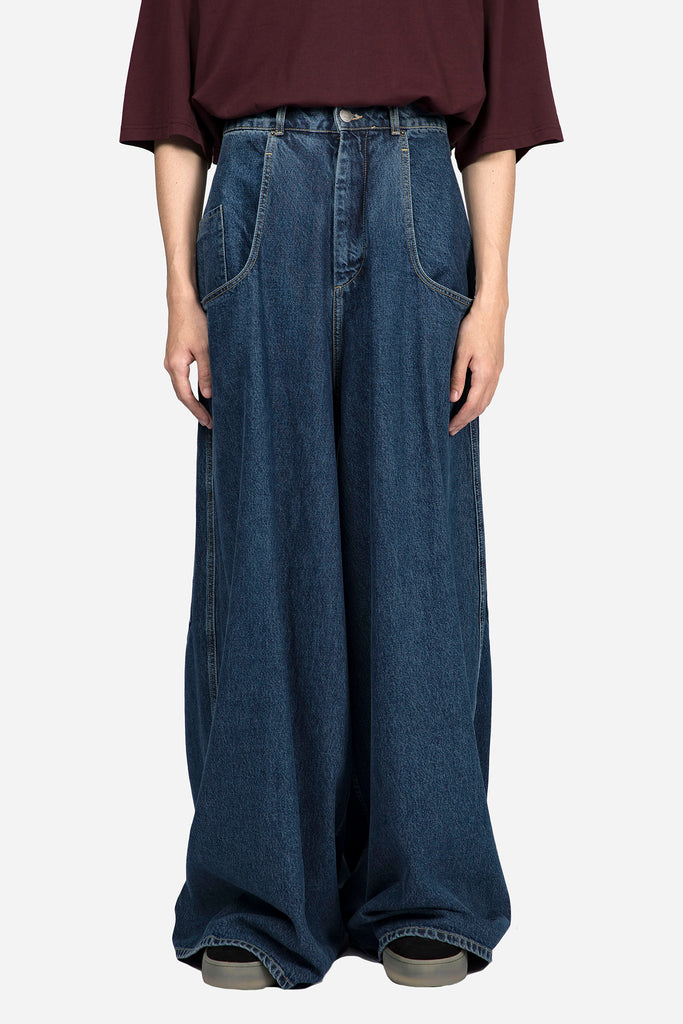 Denim Wide Leg Rave Jean Indigo