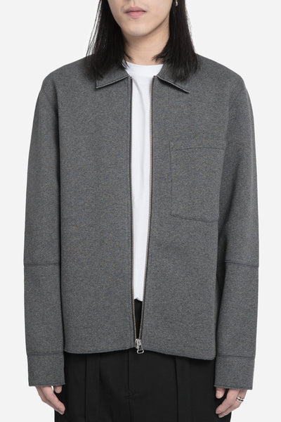 Our Legacy - Raw Edge Blouson Coach Jacket Dark Grey