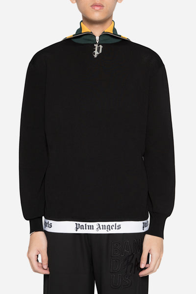 palm angels - Teack Turtle Neck Black