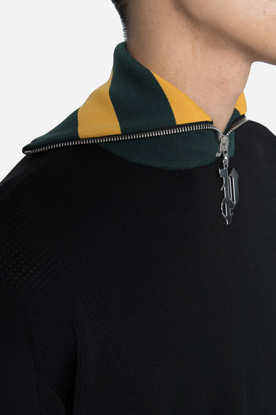 Teack Turtle Neck Black