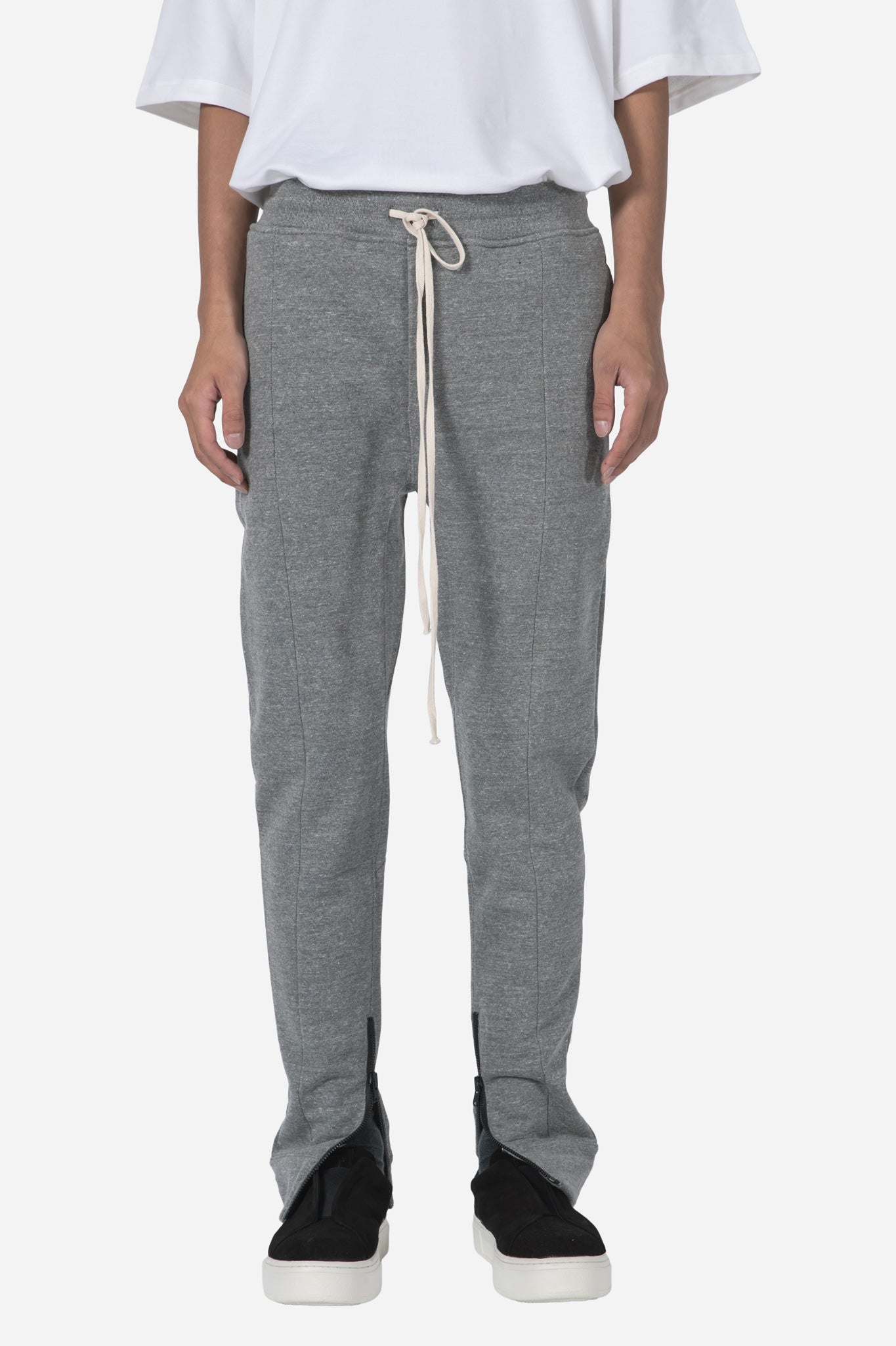 Heavy Terry Everyday Sweatpant-Heather Grey
