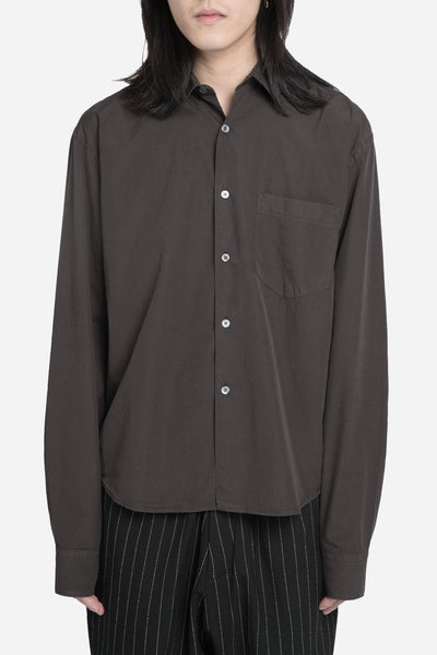 Our Legacy - Cropped Initial Shirt Maron