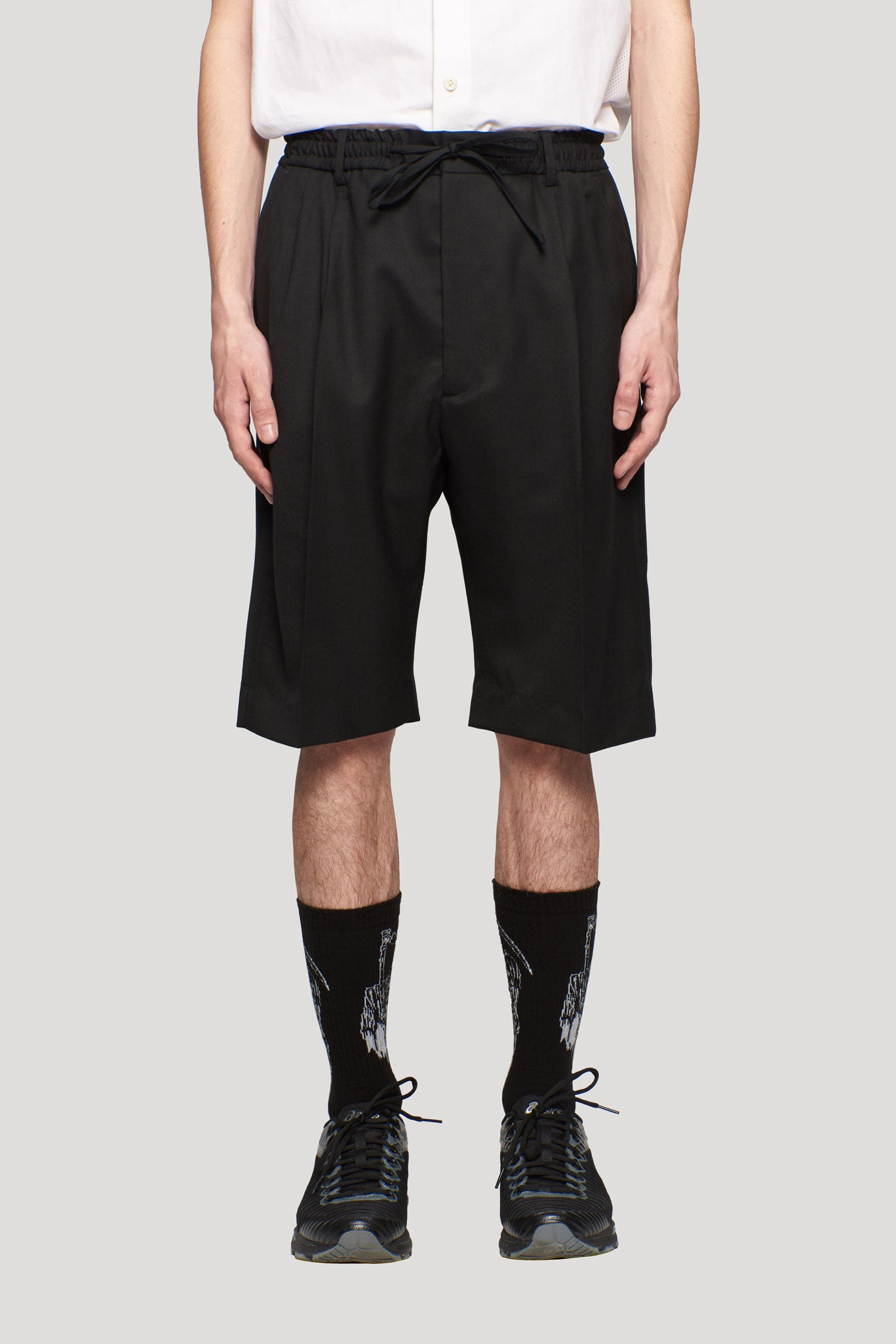 Jayson Drawstring Shorts Black