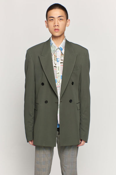 CMMN SWDN - Ellis Sage Double Breasted Jacket