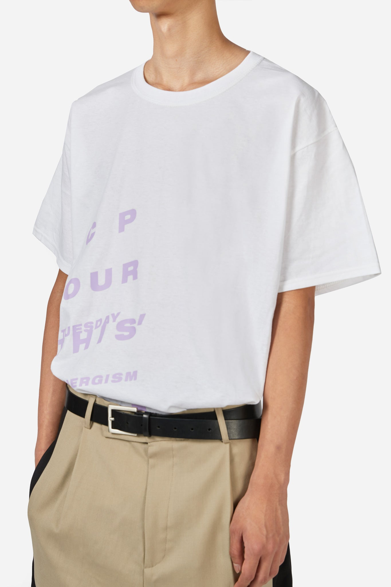 """Maybe This"" CP Tee White"