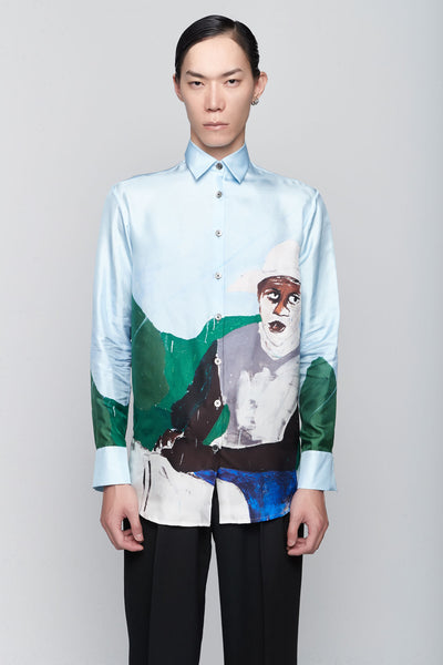 Etudes Studio - Mountain Silk Horse Blue