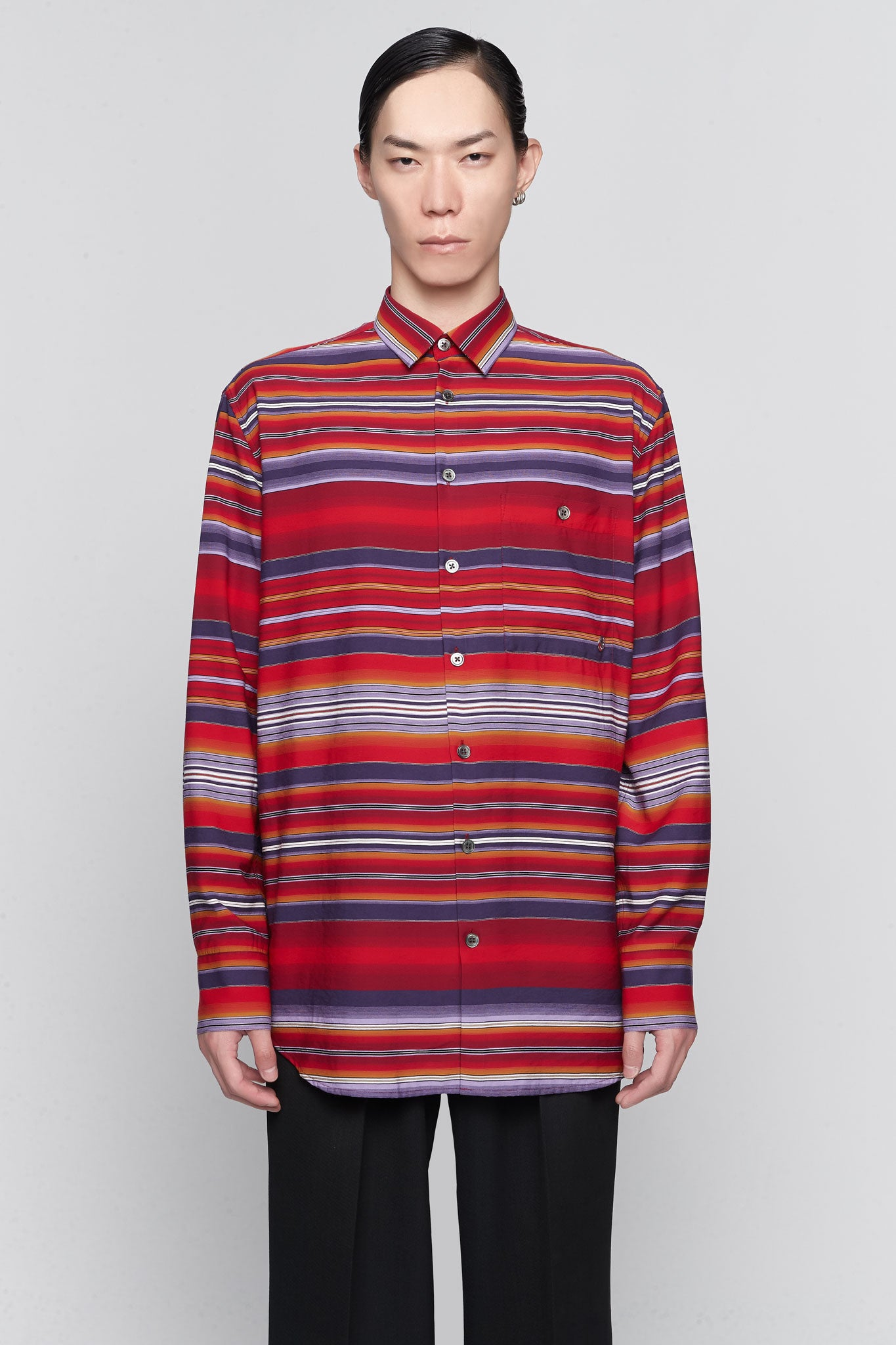 Portrait Mexican Shirt Red