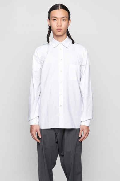 GmbH - AYA' Shirt Suspender White Stripes