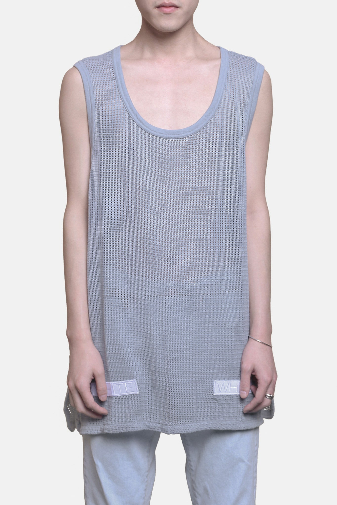 Mesh Tank Dusty Blue
