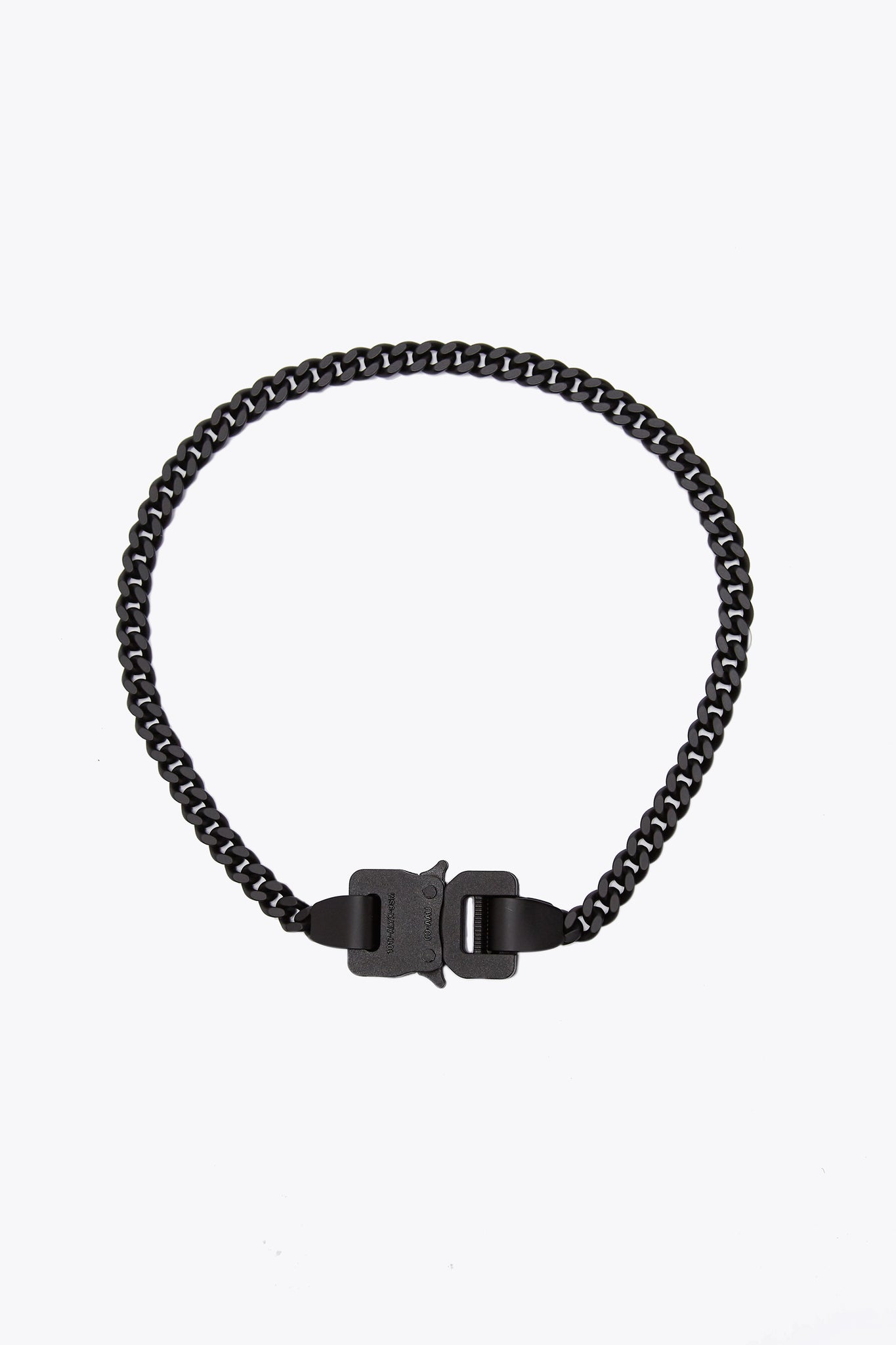 Classic Chainlink Necklace Black