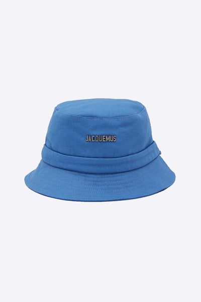 Jacquemus - Le Bob Gadjo Light Blue Canvas bucket hat