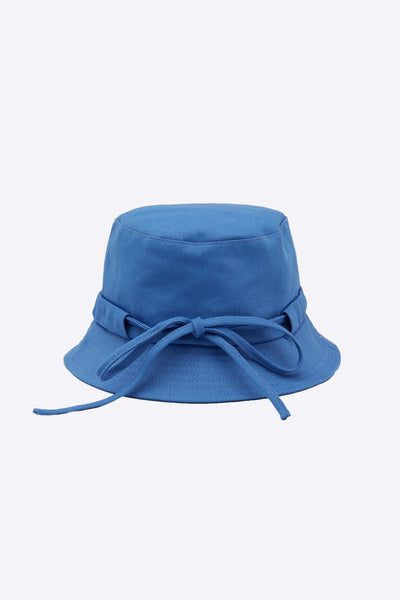 Le Bob Gadjo Light Blue Canvas bucket hat