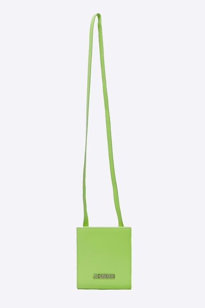Jacquemus - Le Gadjo Neon Yellow Neck Wallet