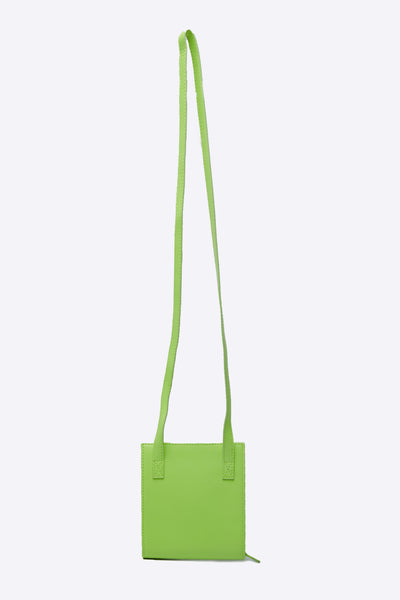 Le Gadjo Neon Yellow Neck Wallet