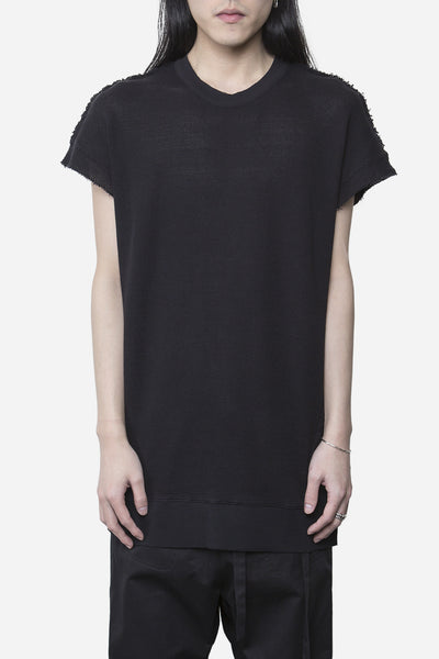 damir doma - Soria Mesh Sleeveless Sweatshirt Coal