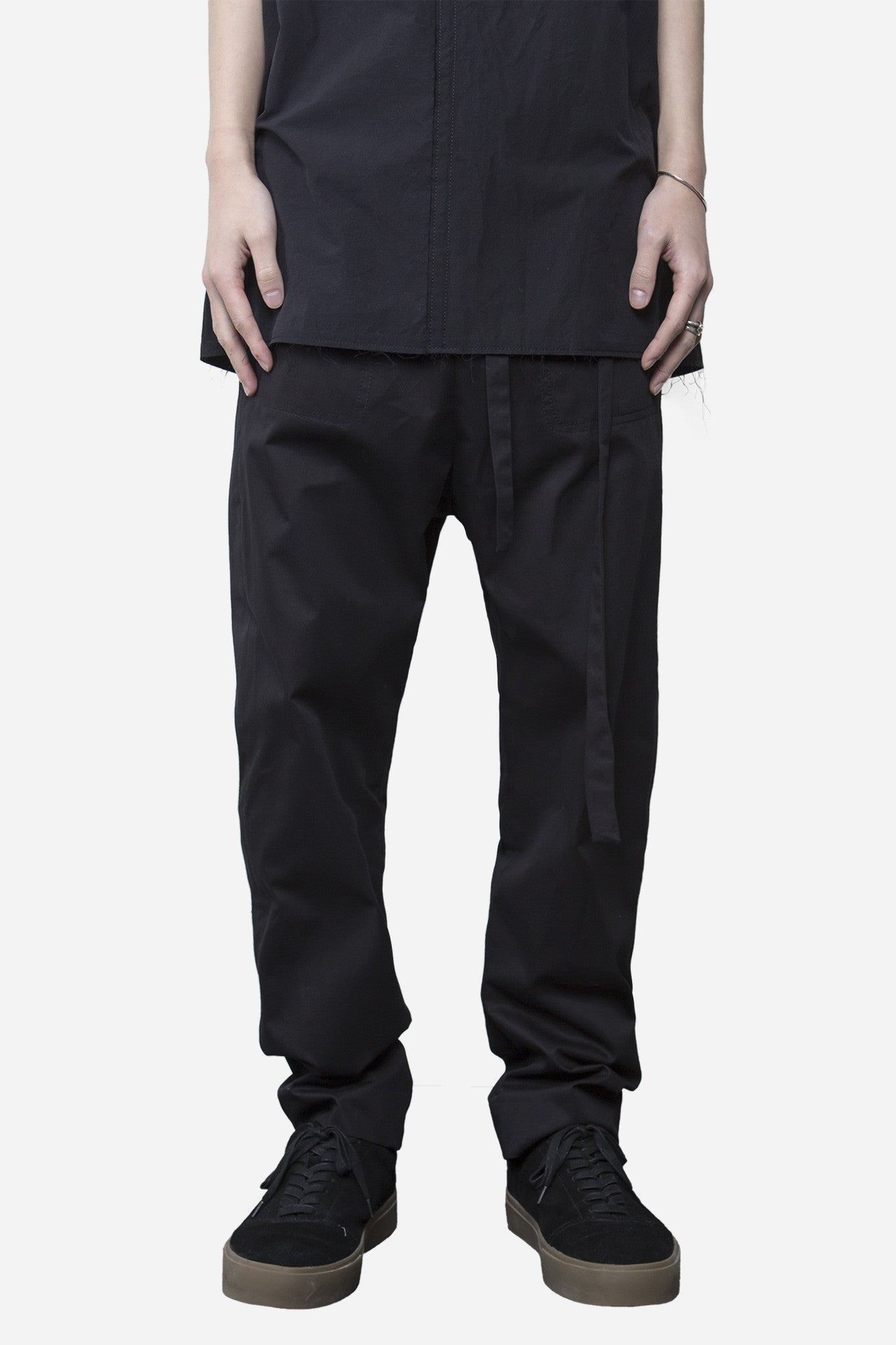 Polate Drawstring Trouser Coal