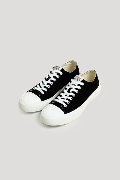 1007 Low top Vulcanized Sneaker Black