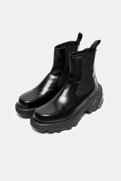 Chelsea Boots Removable Vibram Sole Var. 2 Black