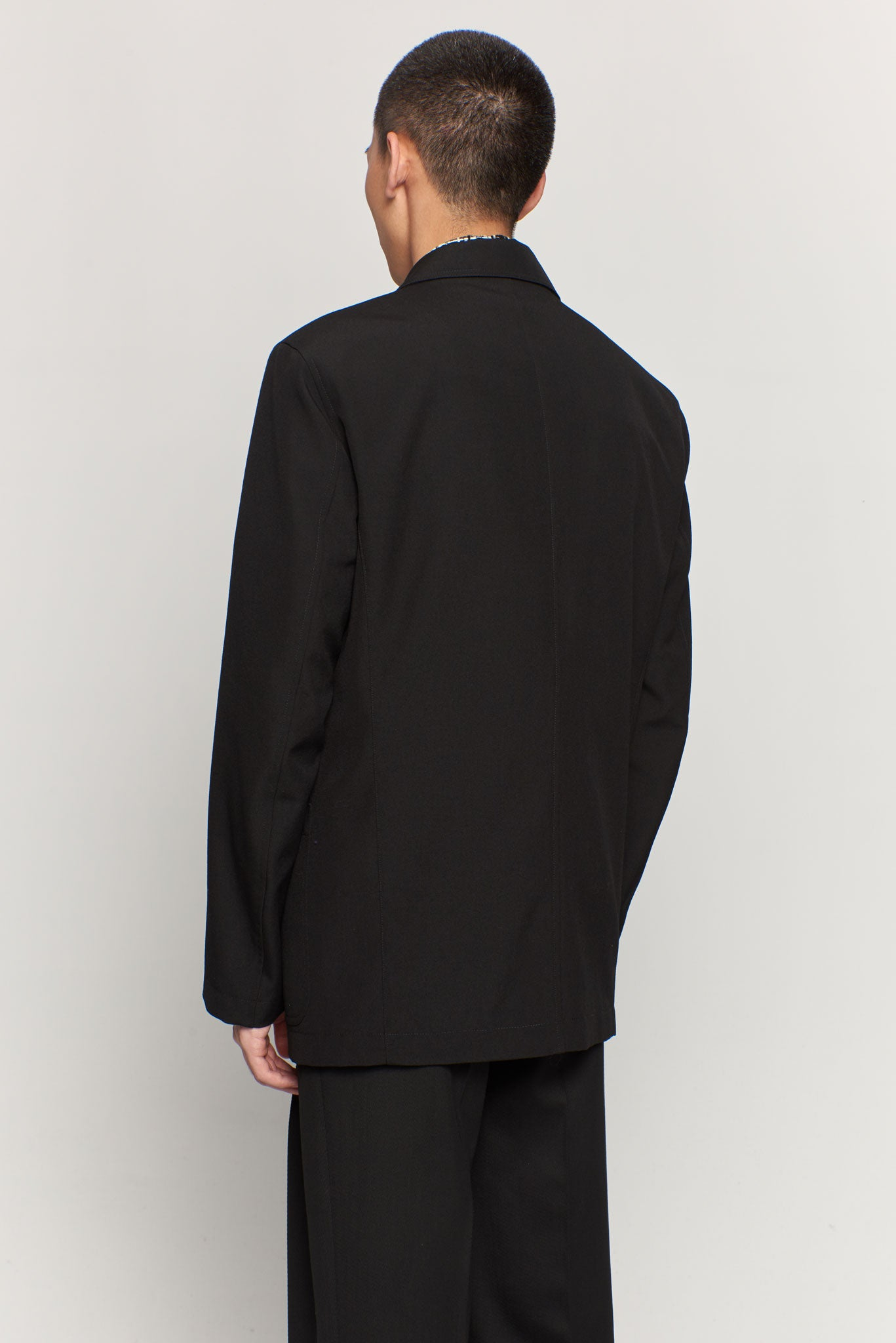 Single Breasted Jacket Black